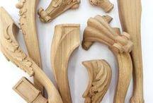 Ножки для мебели / Ножки для мебели из дерева