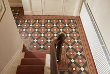 Tessellated Hallways / Geometric tessellated hallway tiles for that classic, period look with a particular focus of Federation, Victorian and other heritage era influences.