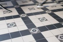 Tessellated Living Spaces / Geometric tessellated tiles that adorn living spaces in period houses in Australia and around the world.