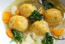 POLIEVKY - SOUPS / ... recipes in the Slovak and Czech language ...