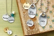 Custom Jewelry / Looking for the perfect custom gift? Jewel Kade offers a wide variety of custom jewelry, that is handstamped in the United States. Be it a chunky Jack Tag or a dainty circle initial stamp, we have you covered. Or if you are looking for the perfect way to cherish a loved photograph, create a custom Photo Charm in our easy-to-use online JK Studio here: https://www.jewelkade.com/Shop/Product/628 / by Jewel Kade