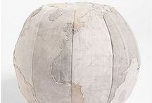 Collections {Globes&Maps} / Globes and maps in decor and design