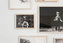 Home {Walls} / Wallpaper, art and photos