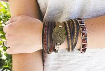 Bracelets: Jewel Kade / Jewel Kade has many personalized jewelry options including Initial bracelets, custom stamped bracelets and more! Jewel Kade bracelets feature sparkling Swarovski crystals and earthy natural stones and come in a variety of finishes including pewter, brass, antique gold and antique silver. With so many options, there is something for every one so adorn your wrists with layers of Jewel Kade arm candy.  / by Jewel Kade