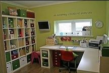 Official Business / Storage ideas, room layout ideas & anything practical & fun for painting, crafting etc etc!!