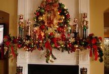 Christmas Mantels / by sandra godbee