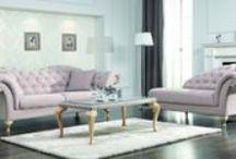 WOONENZO | Moderne design bankstellen en hoekbanken / Diverse soorten banken, bankstellen en fauteuils verkrijgbaar in diverse kleuren stof, lederlook of echt leer. De hoekbanken zijn ook in spiegelbeeld leverbaar.