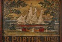 Early Tavern & Inn Boards