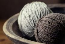 Spinning a Yarn / Knit or crochet? ...One day I'll learn :0)