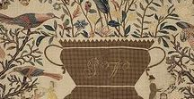 Coverlets and Wovens / Primitive Textiles