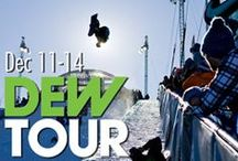 Winter Dew Tour / Almost time for the Dew Tour in Breckenridge, Colorado! A great time to come out for a Colorado vacation and check out all the action! Skiing, snowboarding, and your favorite athletes showing off their sweet moves Breck's awesome terrain parks.