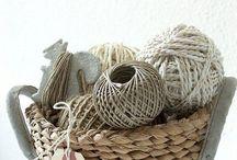 Riet en touw