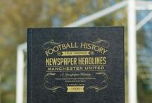 Personalised Football Books / Relive the glorious history of your football club with our range of Personalized Football Books. Featuring newspaper articles that span back over 100 years, you can gain a rich and fascinating insight into your teams past. These personalized books include match reports and photography, giving you a special insight into how the beautiful game once was.