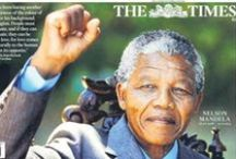 RIP Nelson Mandela 1918-2013 / A Look at front page newspaper coverage from across the world following the death of Nelson Mandela.