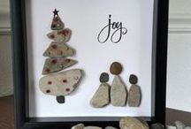 art with stones
