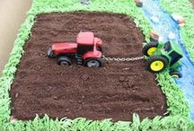 second birthday party / Ideas for tractor (and other vehicles) themed birthday party.