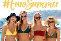 KAIAMI SWIM - #EUROSUMMER / Grab your girls and join Kaiami Swim in Mykonos for the ultimate European getaway.  You'll experience your best trip in our new textures, styles and colours that are just as Instaworthy as your #EuroSummer break!