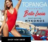 TOPANGA SWIM - DESTINATION MYKONOS / Introducing Topanga Swim ft. Belle Lucia for Destination Mykonos.  Grab your favourite bikinis and your passport and join us as we get lost searching for the most beautiful locations in the iconic streets of Mykonos.