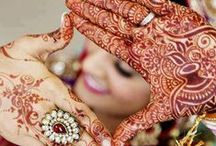 Mehndi / A collection of different Mehndi designs