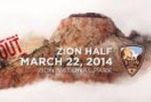 Zion Half Marathon / All about the Zion Half Marathon. The race is on March 22, 2014. We can't wait!
