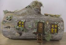 Fairy Homes / Inspiration for the crafty fairy gardener. Create a magical home for the fairies at the bottom of your garden.