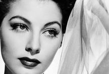 Beauty in Black & White / The ageless beauties who have inspired me.