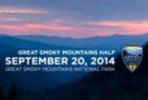 Great Smoky Mountains Half Marathon / Pins about the Great Smoky Mountains Half Marathon
