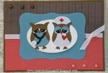 Owl Cards and Boxes