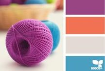 Color Palettes / Use color palettes to inspire your next project!