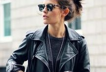 The Look: Edgy / Edgy fashion and beauty pins.
