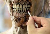 DIY Zombie / Ideas for homemade zombie costumes, including makeup, clothing, and accessories.