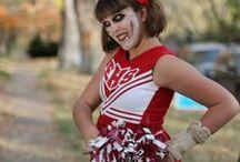 Dead Cheerleaders / Zombie cheerleader costumes.