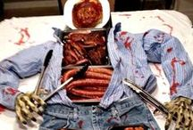 Zombie Party! / Ideas for zombie theme parties - food, drink, decorations, games, etc.