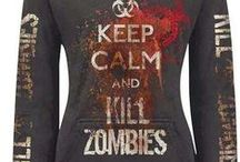 Zombie T-Shirts, Etc. / Our picks for the funniest, scariest, and overall best zombie T-Shirts, shoes, hats, and other clothing.