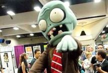 Plants vs Zombies Costumes / Halloween costumes inspired by the popular game Plants vs. Zombies.