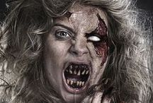 Zombie Hairdo / Examples of great zombie hair, from stylish to grungy/realistic.