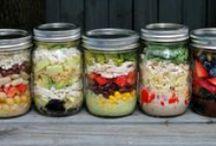 Food - Mason Jar Salads