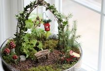 Christmas in the Fairy Garden