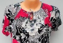 Bluzki damskie duży rozmiar / Gdzie hurtowo kupić bluzki damskie, duży rozmiar, hurt, hurtownia
