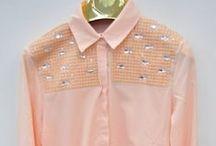 Koszule i bluzki koszulowe / Gdzie hurtowo kupić koszule damskie, bluzki koszulowe damskie, hurt, hurtownia