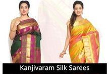 Kanjivaram Silk Sarees / Kanjivaram Pure Silk Sarees – Largest house for pure kanjivaram silk sarees in South India with a wide range of variety and collection. Shop now! Best Silk Saree Collection in Bangalore.