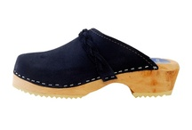 Suedes / Cape Clogs has expanded our line to include soft suede styles with braided straps.