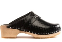 Vegan / No leathers or animal products were used to create this clog - 100% Vegan.