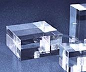 Blocks Bases - Acrylic / Wholesale acrylic columns, bases and blocks to display your items at different heights with variety. Email: sales@displayit-info.com  Website:  http://www.displayit-info.com