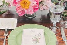 Inspiration Tablescaping / Dress that table!