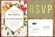Inspiration Wedding Stationary / We invite you to celebrate...