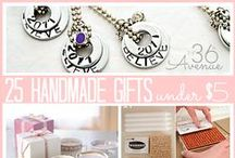 Nifty Gift Ideas / Thoughtful and Affordable gifts!