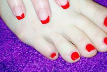 My nail creations / My own work using OPI Gelcolor and Dream Acrylic products