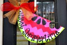Wreath Inspirations! / by Melissa Ann Holbrook