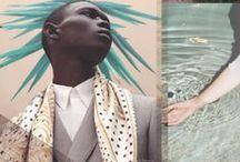 collage / Rip, cut, glue, merge. Inspiring collage.